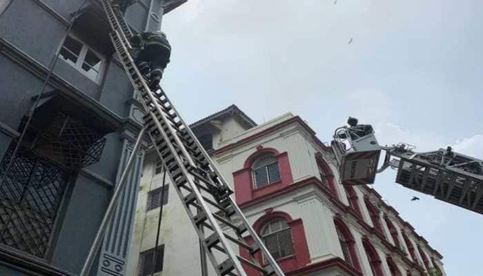 One dead in fire at 4-storey building near Mumbai's Taj Mahal Hotel