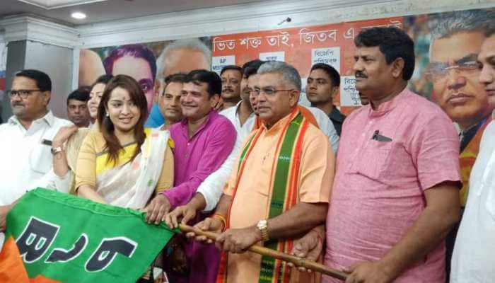 Bengali actress Rimjhim Mitra, two others join BJP