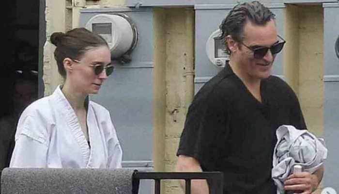 Joaquin Phoenix and Rooney Mara engaged!