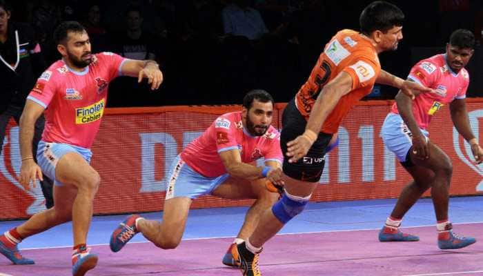PKL 2019, Jaipur Pink Panthers vs U Mumba: As it happened