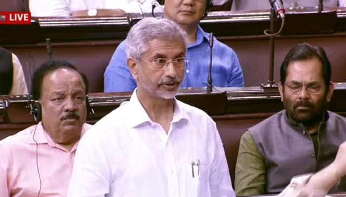 PM Modi did not ask US President Trump for mediation on Kashmir: EAM Jaishankar tells Rajya Sabha