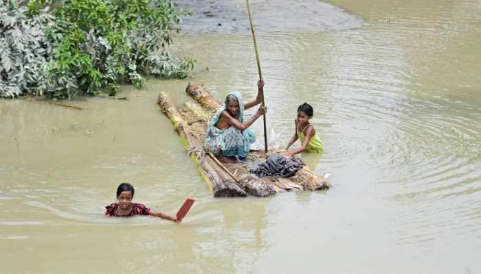 Assam floods: Over 57 lakh people affected across 2000 villages