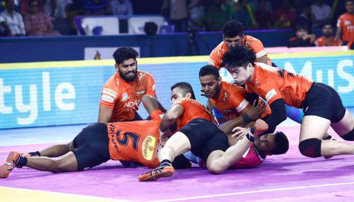 Pro Kabaddi League 2019: U Mumba skipper Fazel Atrachali blames poor initial performance for Jaipur Pink Panthers loss