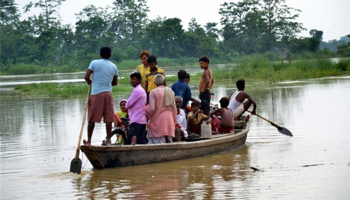Situation remains grim in 19 flood-hit districts of Assam