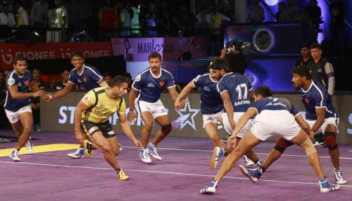 PKL 2019, Telugu Titans vs Delhi Dabang: As it Happened