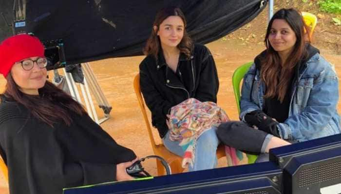 Alia Bhatt, sisters Pooja and Shaheen create memories in Ooty