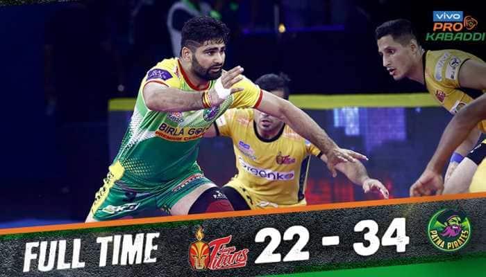 PKL 2019: Patna Pirates thrash Telugu Titans 34-22