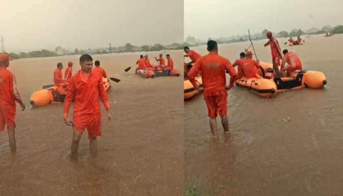 Mumbai rains: Hundreds stranded on board Mahalaxmi Express; NRDF, IAF, Navy deployed