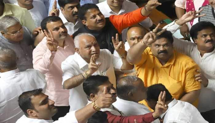 With BJP MLAs packed in hotel, BS Yediyurappa sure of success in Karnataka floor test
