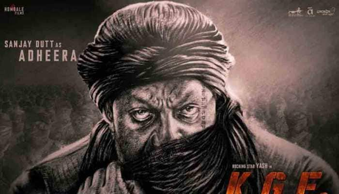 Sanjay Dutt looks fierce as Adheera in Yash's 'KGF 2' — Check out new poster