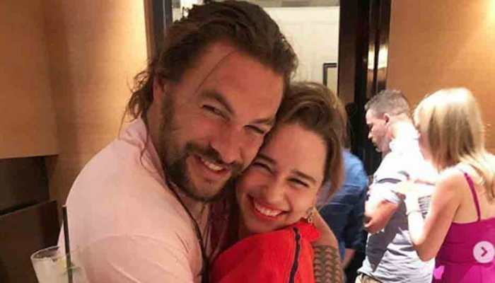 GOT stars Emilia Clarke, Jason Momoa reunite as she wishes him an early happy birthday