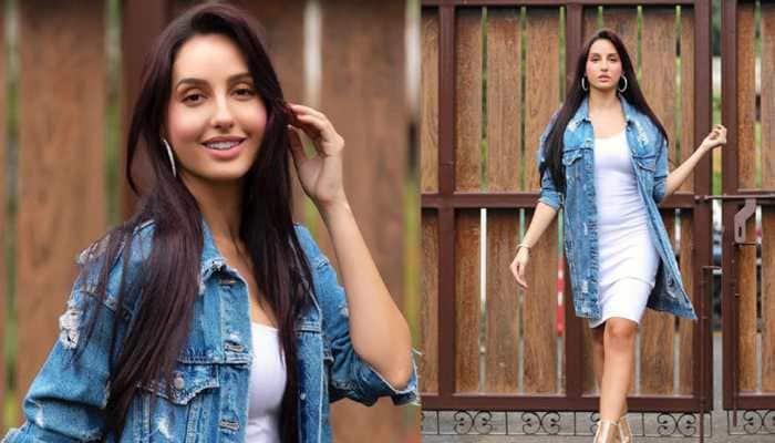 Nora Fatehi makes denim look uber hot! See latest pics
