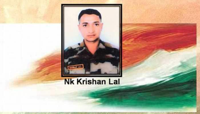 Army pays tribute to martyr Naik Krishan Lal in Jammu and Kashmir's Akhnoor