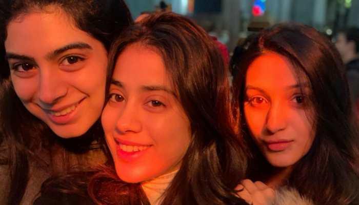 Janhvi Kapoor lights up Instagram with lovely pics on BFF Tanisha Santoshi's birthday