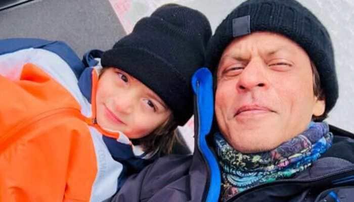 Shah Rukh Khan and son AbRam enjoy jet ski ride in Maldives, video goes viral—Watch