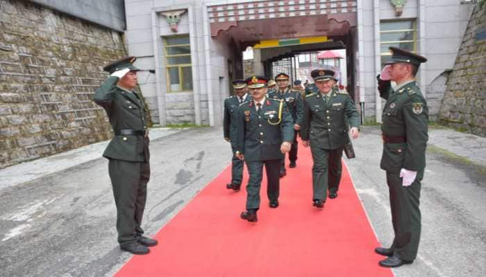 Indian Army delegation participates in Chinese Army's Foundation Day event