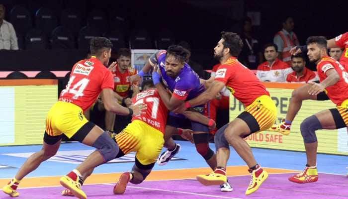 Pro Kabaddi League 2019: Unbeaten Gujarat Fortunegiants outclass Dabang Delhi 31-26
