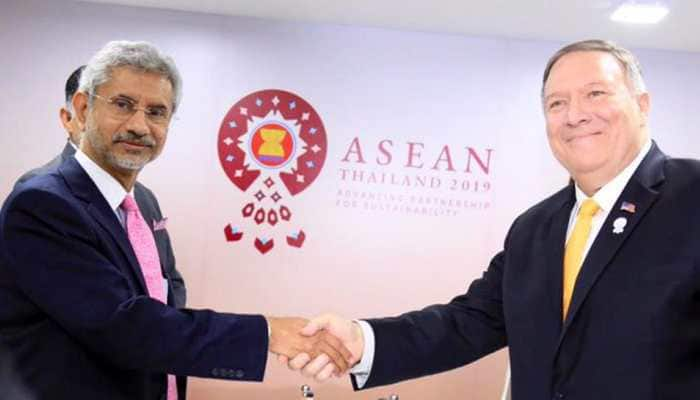Discussion on Kashmir will be done only with Pakistan and bilaterally: EAM Jaishankar tells US