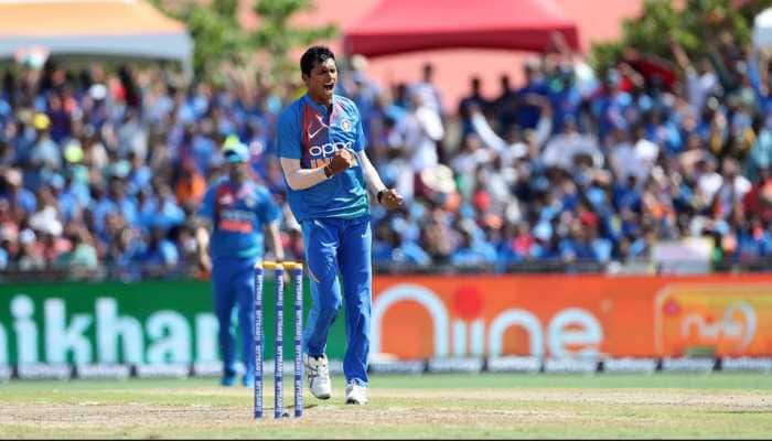 Navdeep Saini stars on debut as India beat West Indies by four wickets in 1st T20I