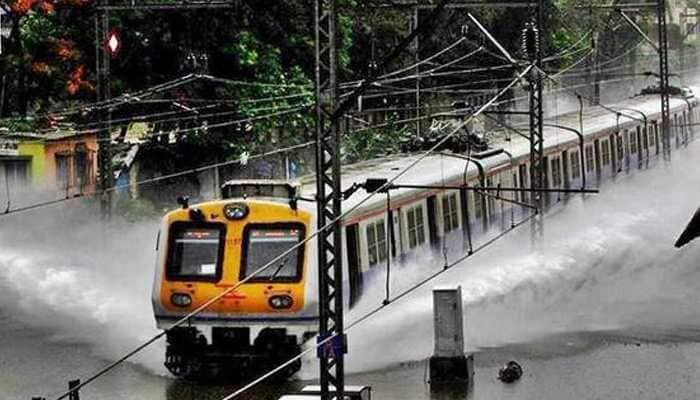 Mumbai rains: Western line, Central line, Harbour line local trains status