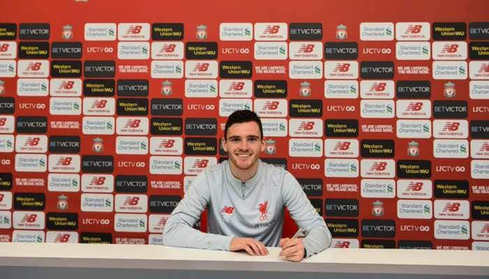 Liverpool defender Andy Robertson expecting tough competition in the Premier League