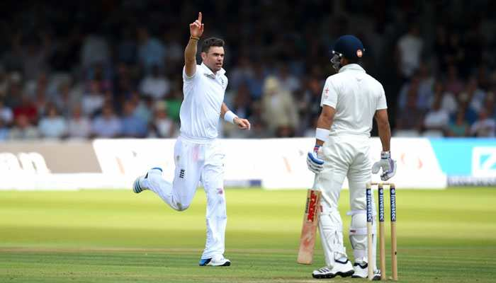 James Anderson ruled out of Lord's Test with a calf injury