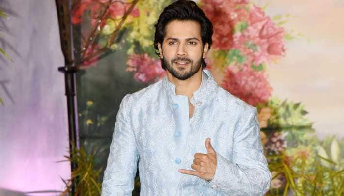 Varun Dhawan gets into comic mood for 'Coolie No. 1'