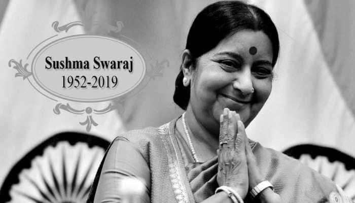 Amitabh Bachchan 'disturbed and saddened' by Sushma Swaraj's death