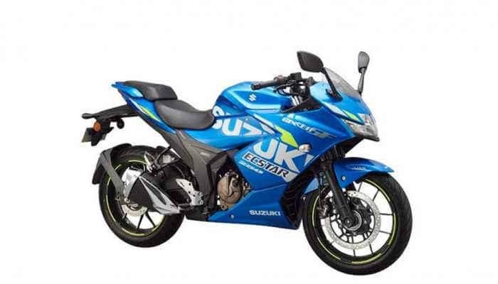 Suzuki launches MotoGP edition of GIXXER SF 250 in India  at Rs 1.71 lakh