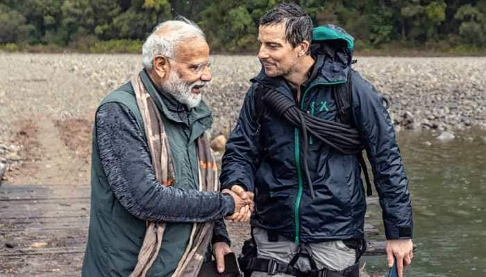 Discovery releases sneak peek of Man Vs Wild episode featuring PM Modi with Bear Grylls