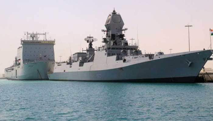Navy puts all bases, warships on high alert over possible terror attack from Pakistan
