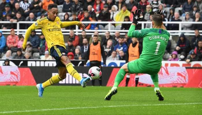 Pierre-Emerick Aubameyang seals Arsenal victory at Newcastle