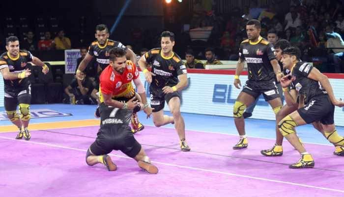 PKL 7: Telugu Titans beat Gujarat Fortunegiants 30-24