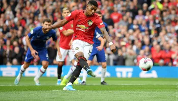 Marcus Rashford grabs brace as Manchester United put four past Frank Lampard's Chelsea