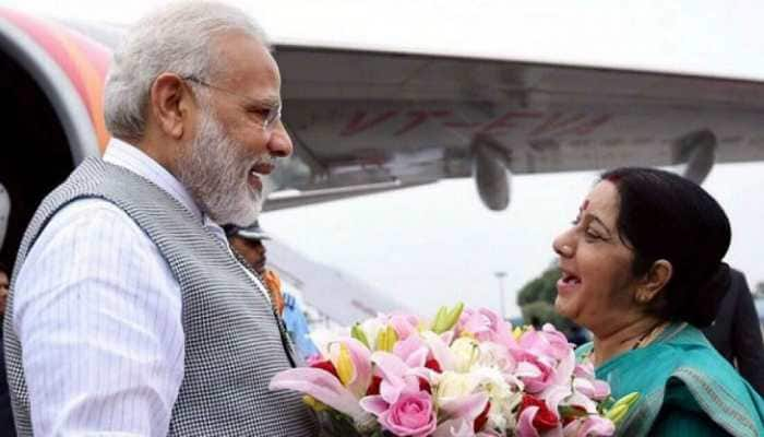 Learned lot from her: At condolence meet, PM Modi recounts fond memories with Sushma Swaraj