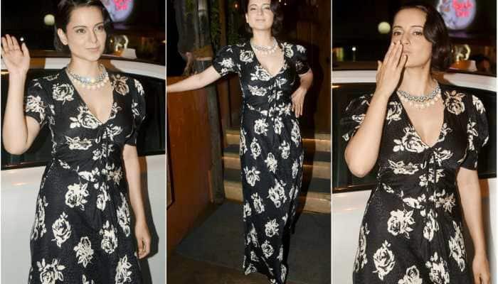 Kangana Ranaut makes the spotlight follow her at 'Judgementall Hai Kya' success bash - Pics