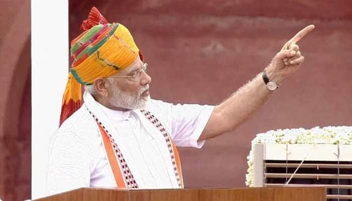 92 minutes: Prime Minister Narendra Modi delivers his second-longest Independence Day speech