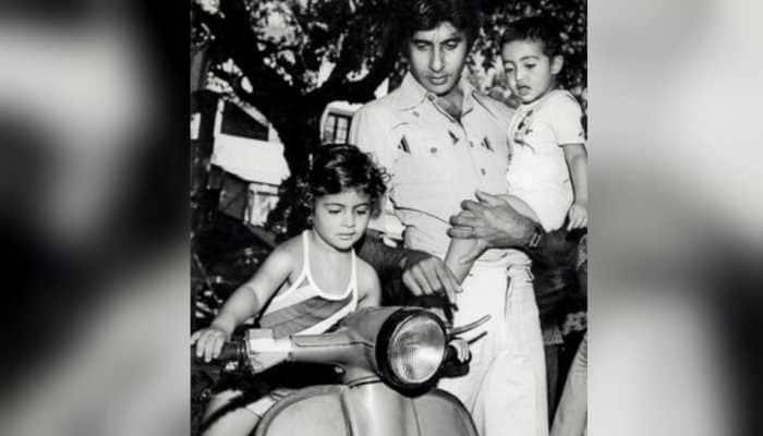 Raksha Bandhan 2019: Amitabh Bachchan posts precious pics of Abhishek and Shweta