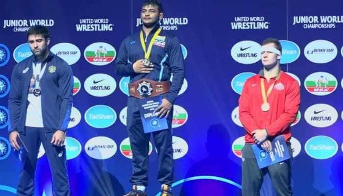 Deepak Punia becomes 1st Indian junior world champion in 18 years