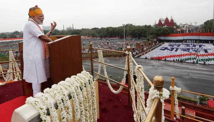 Economy, infrastructure, Article 370, population control, defence forces dominate PM Narendra Modi's Independence Day speech