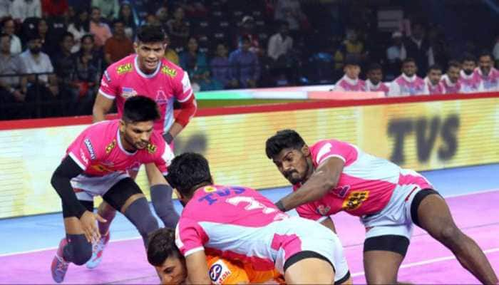 PKL 7: Deepak Hooda stars as Jaipur Pink Panthers beat Puneri Paltan 33-25