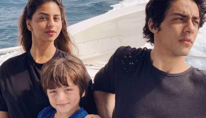 Missing Suhana Khan in Aryan and AbRam's Raksha Bandhan pics