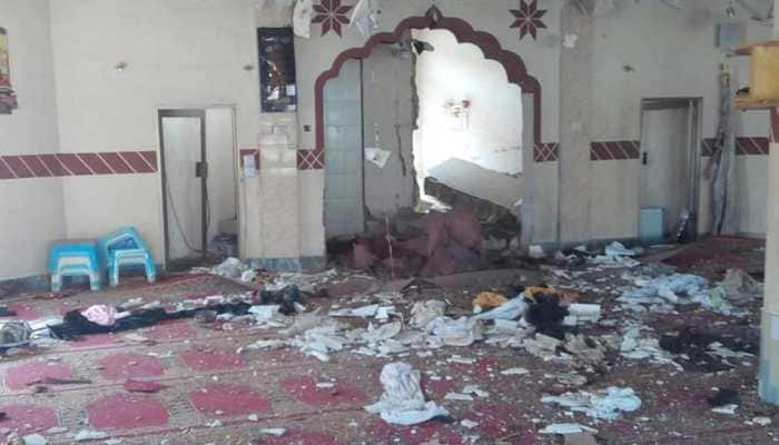 Four killed in blast in a mosque in Pakistan's Balochistan, 15 injured