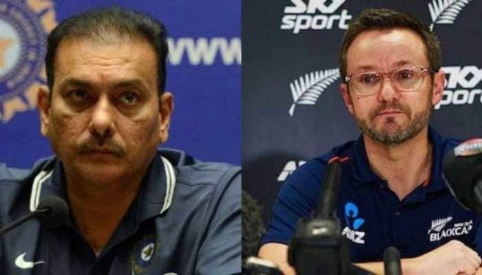 Mike Hesson congratulates Ravi Shastri for retaining Team India's head coach role