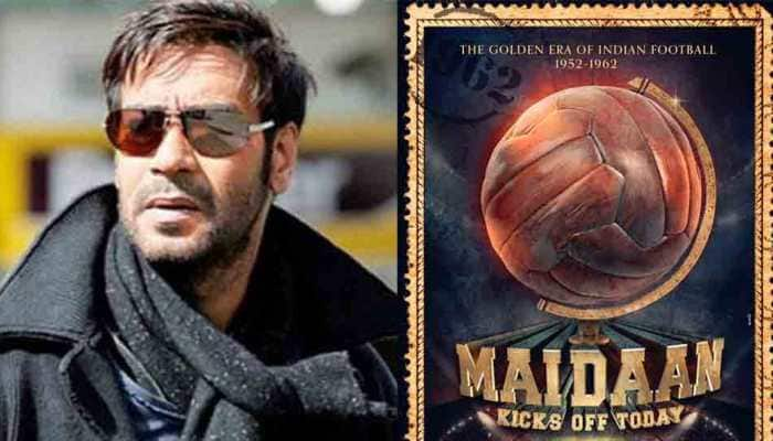 Maidaan first look: Ajay Devgn to play football coach Syed Abdul Rahim in sports drama