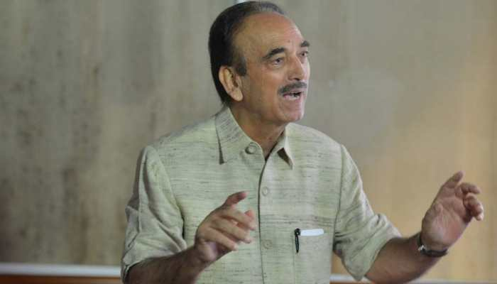 Congress leader Ghulam Nabi Azad detained at Jammu Airport, sent back to Delhi
