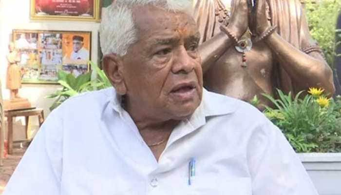 Babulal Gaur, former MP chief minister and senior BJP leader, dies in Bhopal