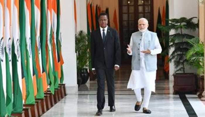 Jammu and Kashmir is bilateral issue between India and Pakistan: Zambia
