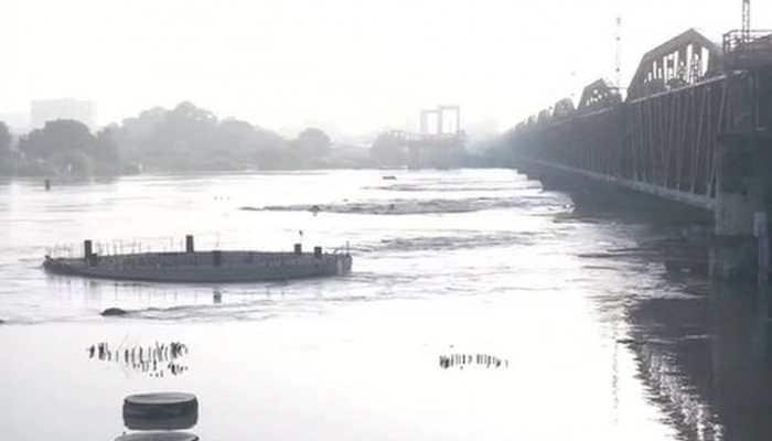 Water level in Delhi's Yamuna recedes below 'danger mark'