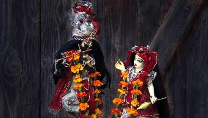 Janmashtami celebrations in Srikrishna temple in Hyderabad